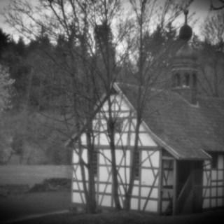 Kloster Veßra - Totenkopfkapelle II [Holga PinHole]