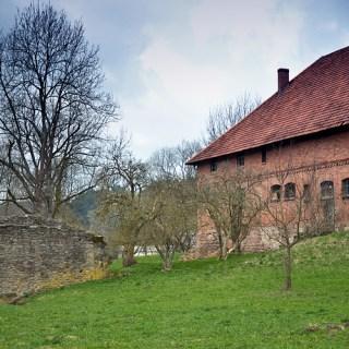 Kloster Veßra - Stallgebäude