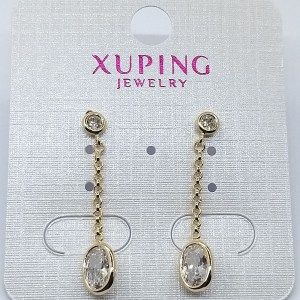 Серьги Xuping позолота 18К