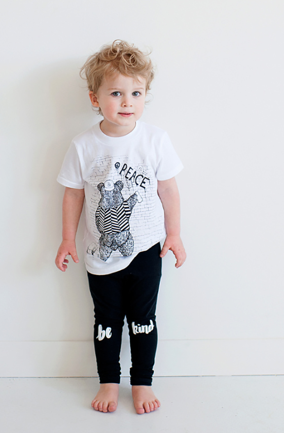 Cute modern kids fashion from Badger + Rue