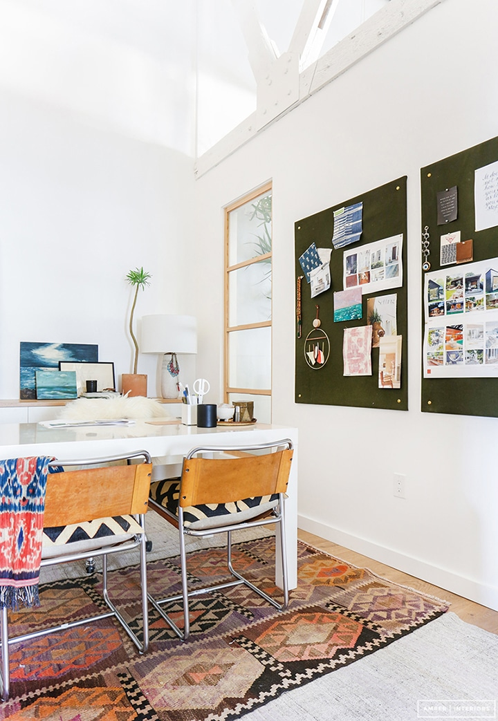 Home Crush Office Inspiration image via Amber Interiors