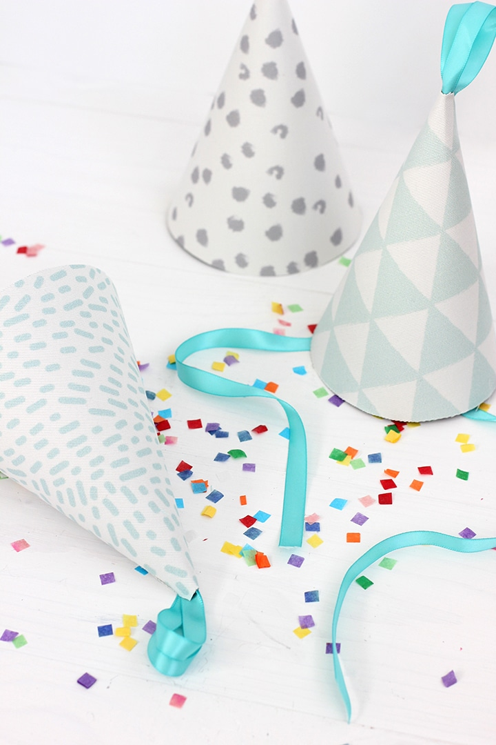 DIY Fabric Party Hat   alice & lois