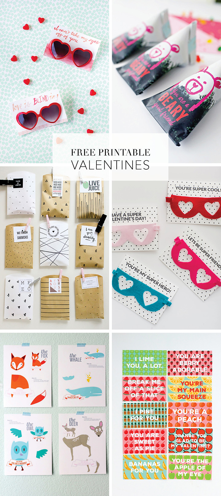 See our favorite Valentine Free Printables