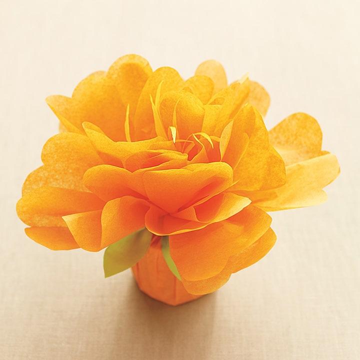 Tissue Paper Flower favor