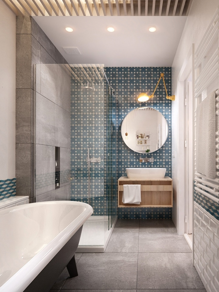 Patterned tile inspiration in the home
