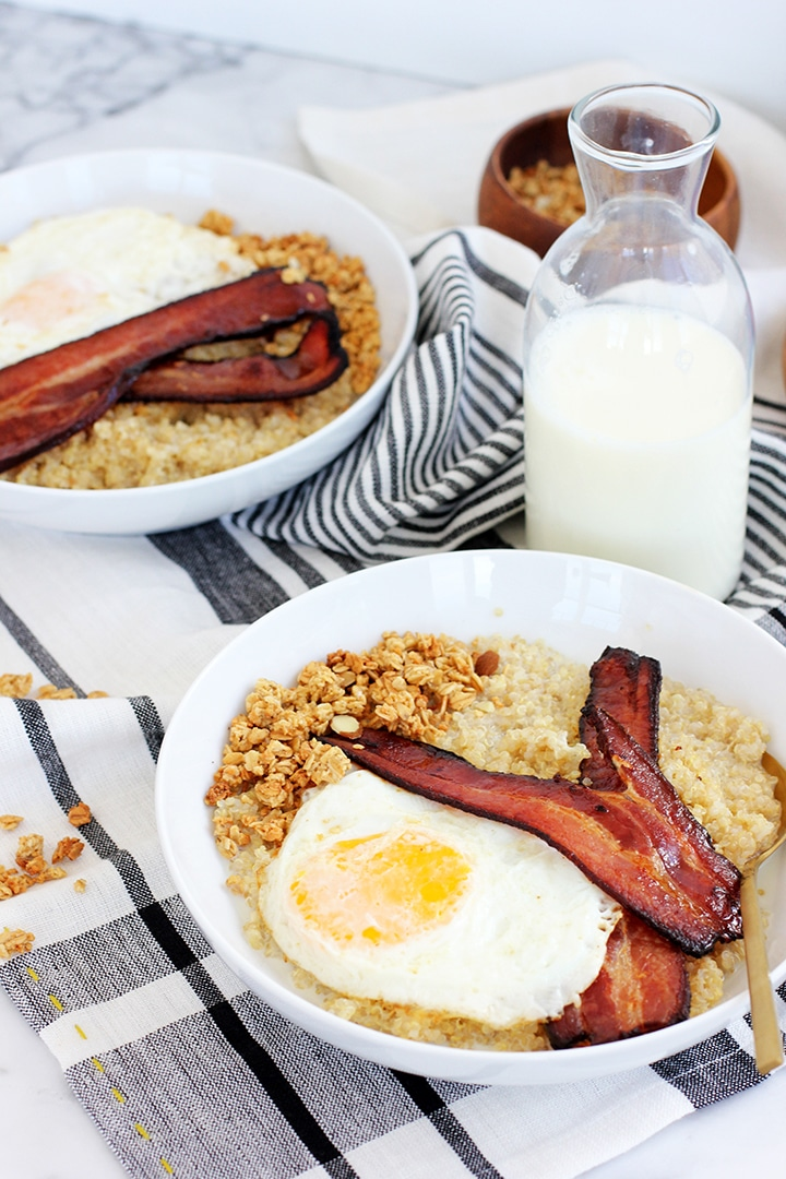 Night Cereal: Savory Quinoa Recipe