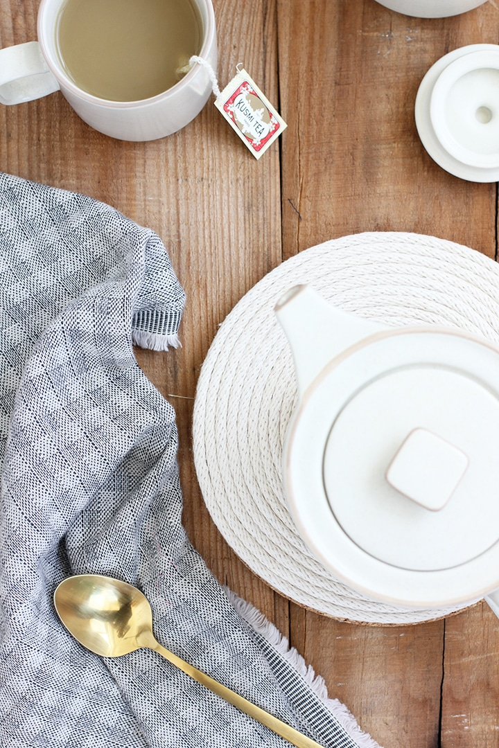 DIY Cotton Rope Trivet