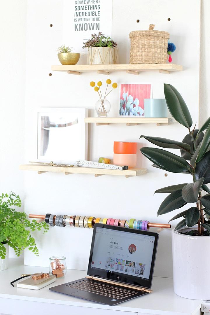 DIY Modern Pegboard | alice & lois