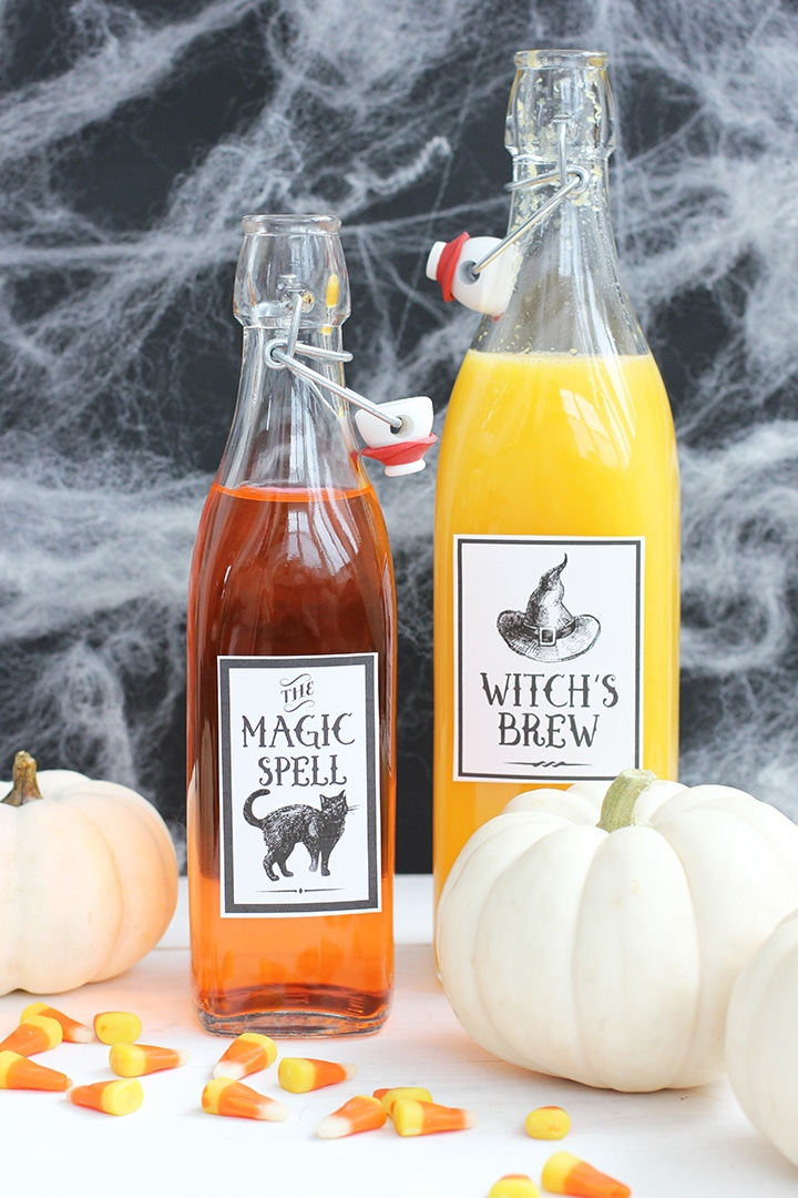 Halloween Potion Labels Free Printables