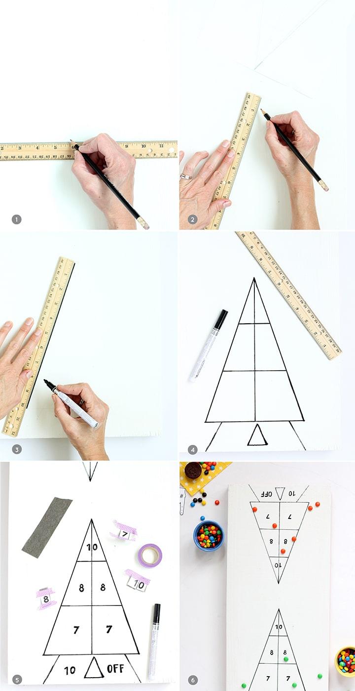 DIY Shuffleboard Game