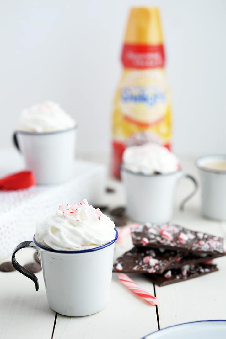 Our favorite Dark Chocolate Peppermint Bark Recipe for the holidays!