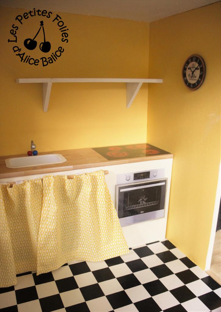 maison de poupee barbie diy doll house 1 16 eme cuisine le salon