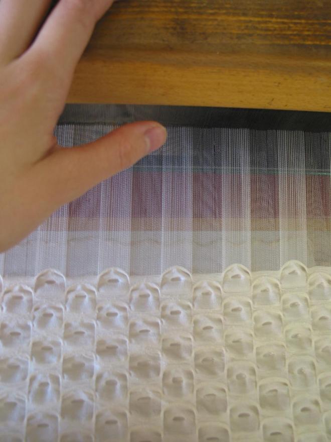 tissage en cours design textile