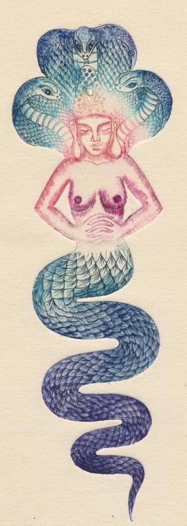déesse gravure 2