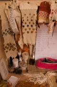 atelier bureau échantillons tissages