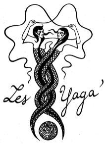 """""""Les Yaga"""" : Enora Rouillé et Alice Heit."""