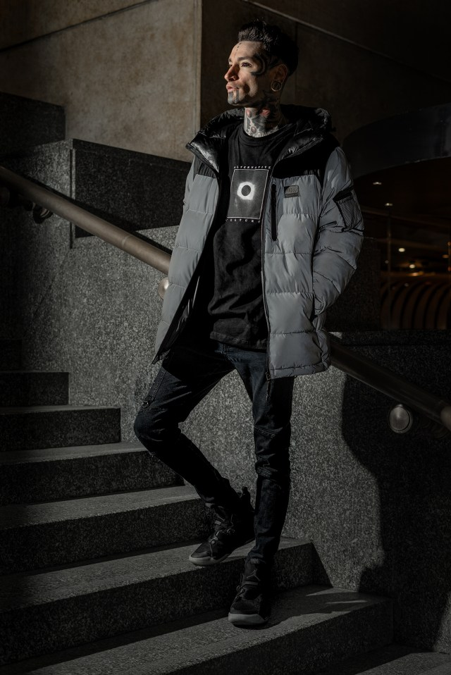 Alternative Culture, Pull and Bear Collection, model: Cristian Ombra
