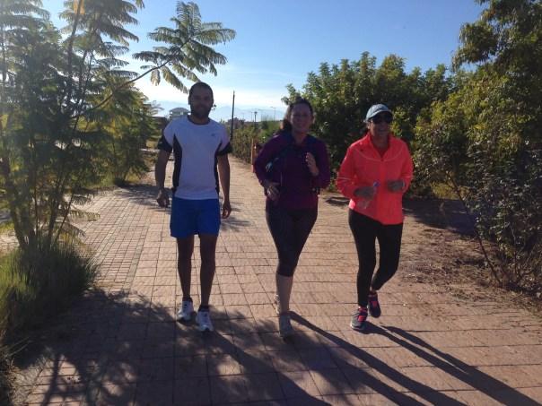Yassine, Alice and Zeinab