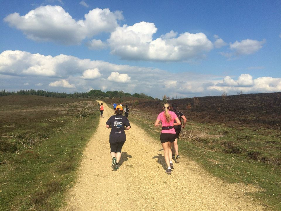 epic running training camps in the new forest and morocco