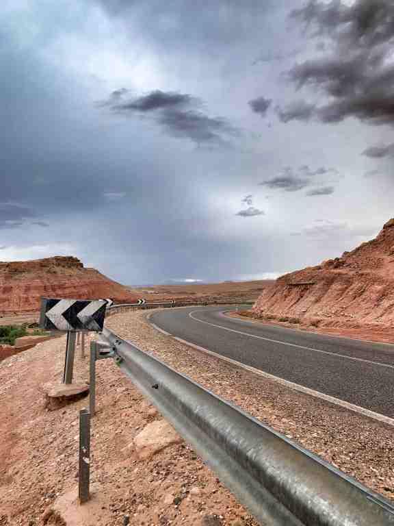 Ouarzazate Marrakech Road