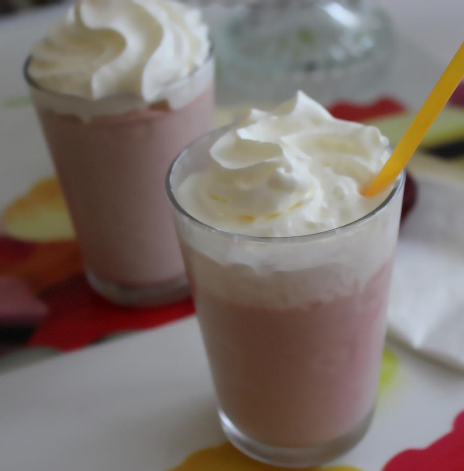 Milkshake Arachides-Framboises