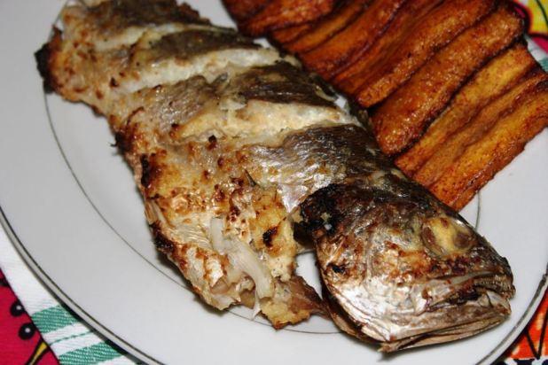poisson braisé