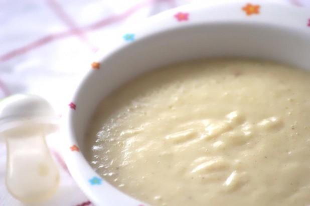 Crème de Gari à l'oeuf pour bébé dès 9 mois