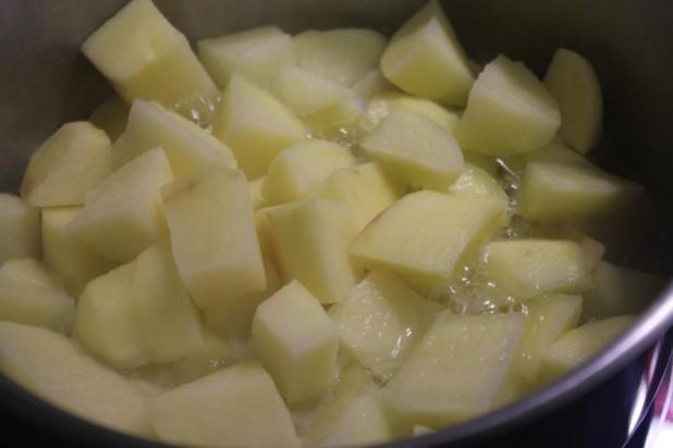Le Pilé de Pommes de Terre