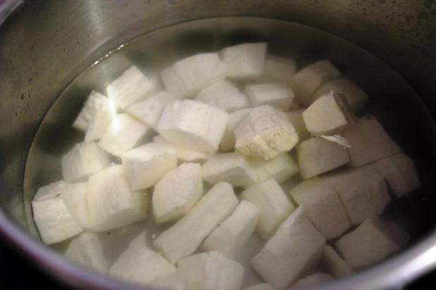 cassava bread pain au manioc frais