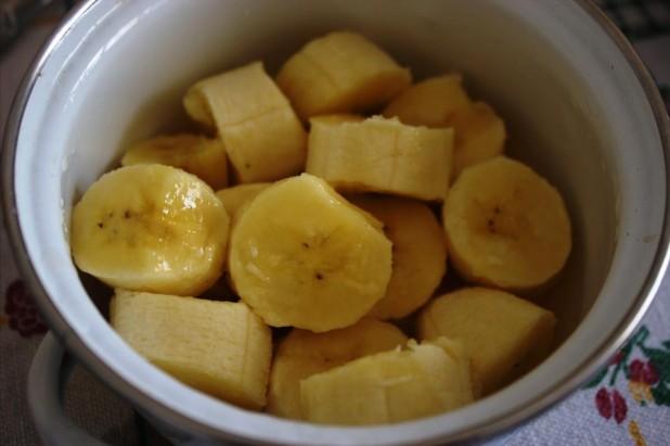 compote de banane pour bébé