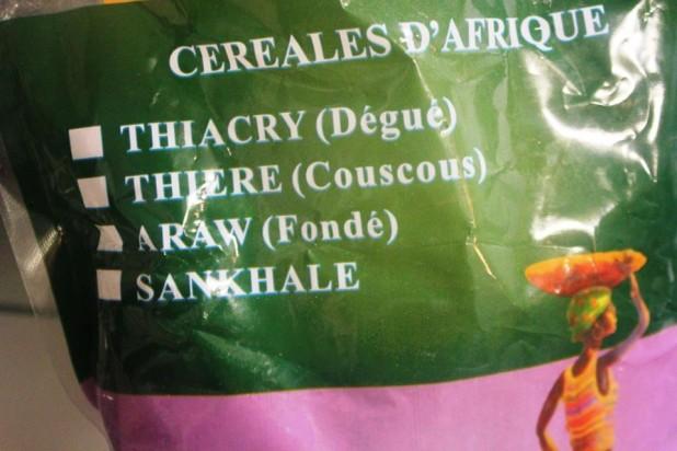 Le Dégué (Semoule de mil au lait caillé) dessert sénégalais