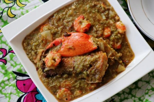 SOUPOU KANDJIA (Sauce au Gombo à la sénégalaise)