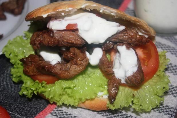 Mon Kebab (Shawarma) de boeuf maison & sa Sauce Blanche