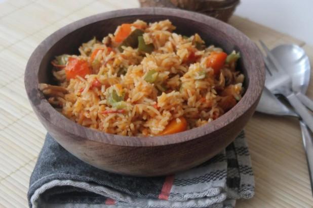 le riz jollof façon buea