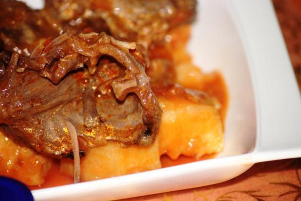 Ragoût d'ignames au Porc-épic
