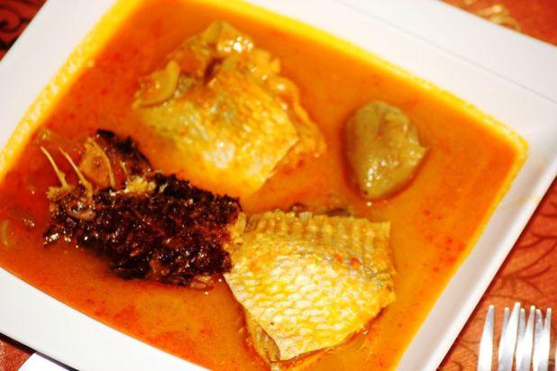 poisson sauce claire