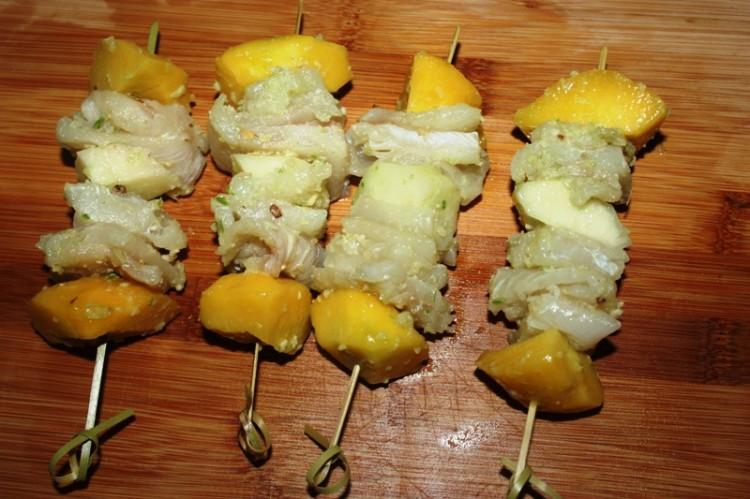 brochettes de filets de sole aux pèches (5)