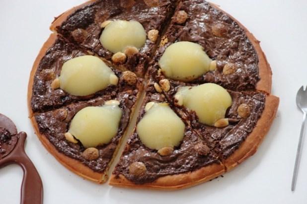 pizza chocolat et poire (7)