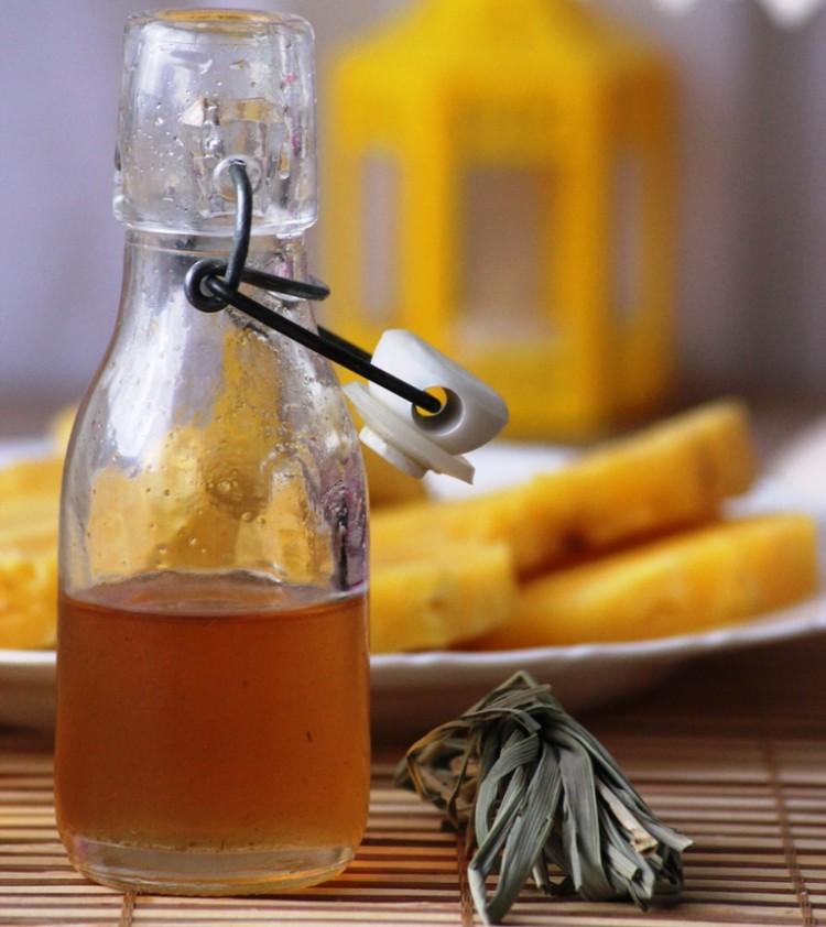 sirop de citronnelle maison