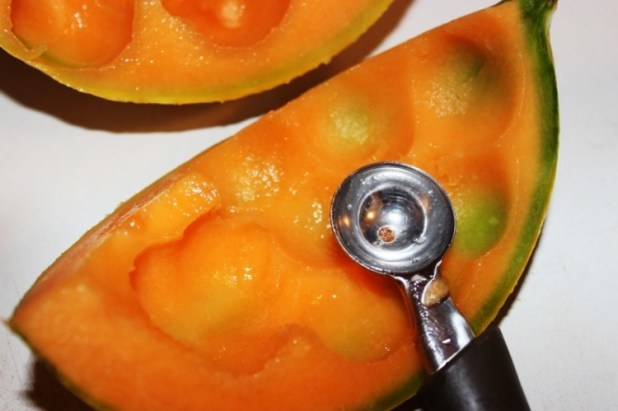 Salade de melon tomate mozzarella et jambon (1)