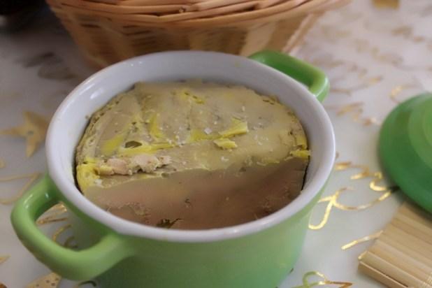 terrine de foie gras au four