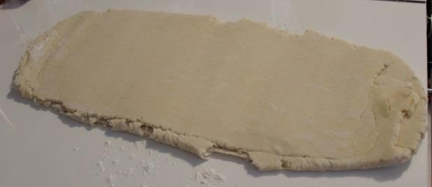 la pâte feuilletée inversée