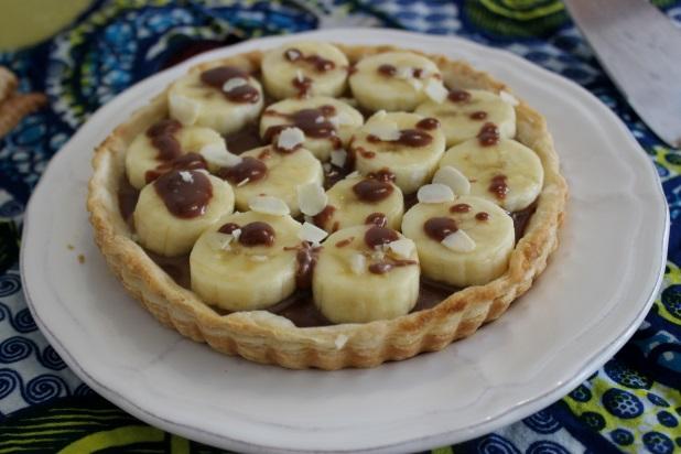 tarte au chocolat banane pegie cuisine