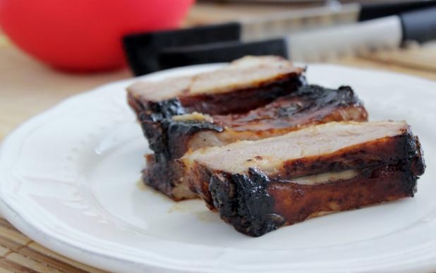 Travers de porc sauce yakitori