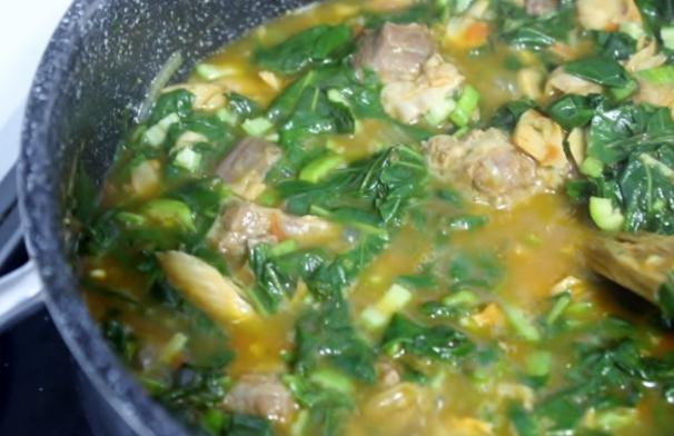 sauce aux feuilles de patate douce (8)