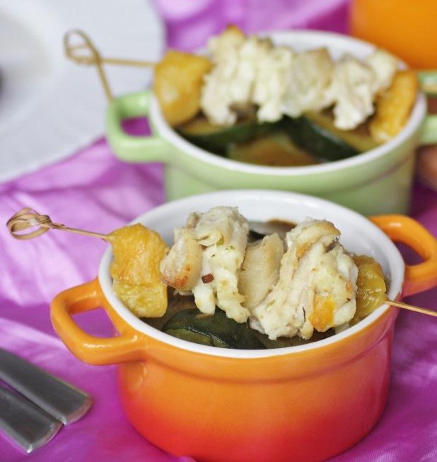 brochettes-de-filets-de-sole-aux-pèches-