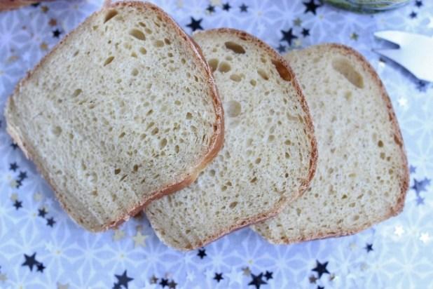 pain de mie à la banane