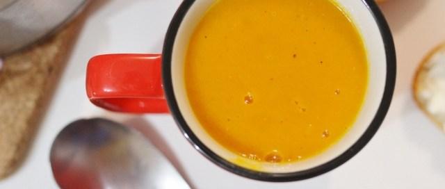 Velouté de Carotte à la mandarine