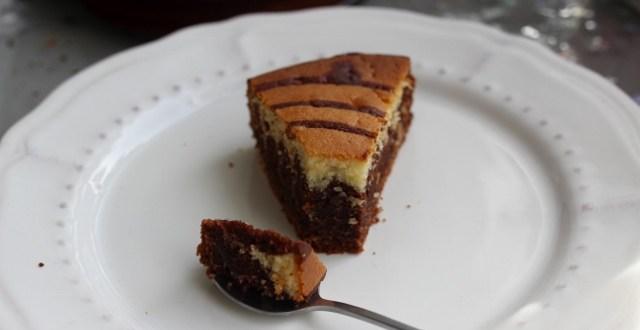 zebra cake au chocolat