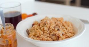 riz sauté au champignons